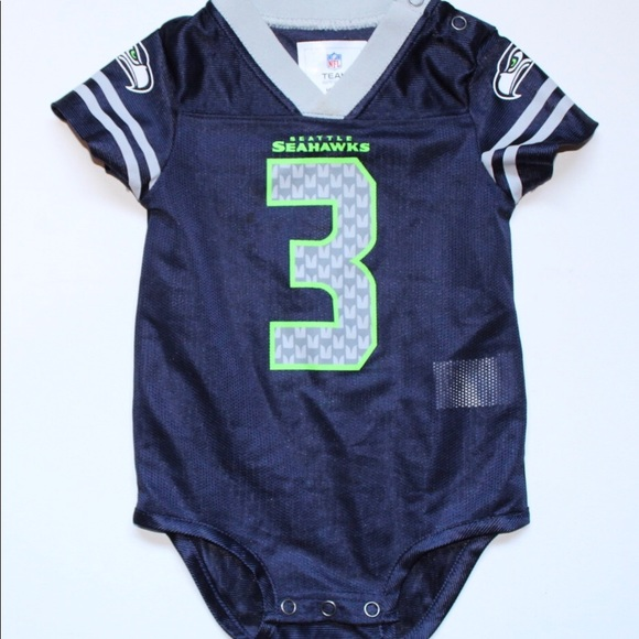 premium selection 26dbb ff41d Seahawks NFL Russell Wilson Jersey Baby 3-6M